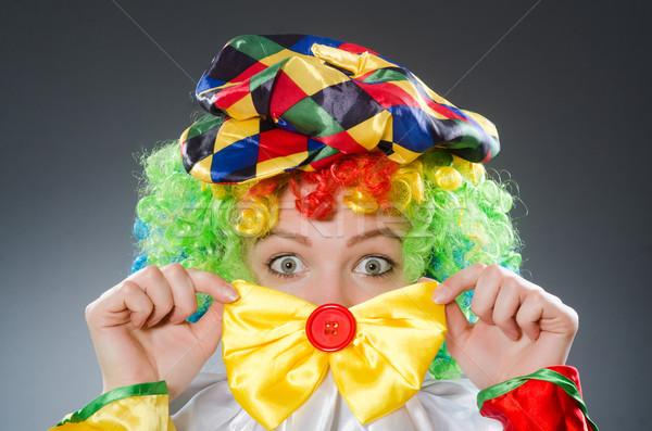 Clown in the funny concept Stock photo © Elnur