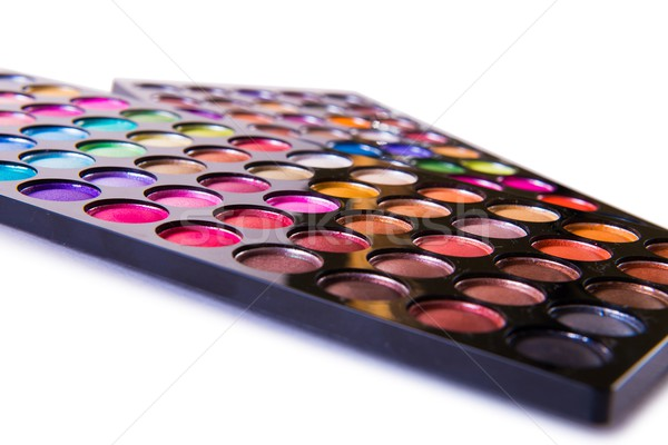 Artist palette isolated on white Stock photo © Elnur