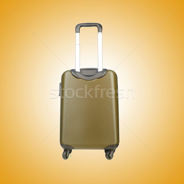 Travel luggage against the gradient background Stock photo © Elnur