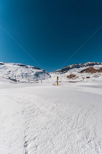 Winter mountains in Gusar region of Azerbaijan Stock photo © Elnur
