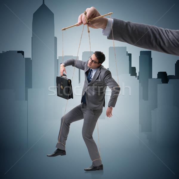 бизнесмен марионеточного Boss бизнеса человека Сток-фото © Elnur