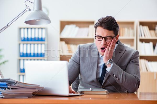 Enfermos empresario oficina cara trabajo médicos Foto stock © Elnur