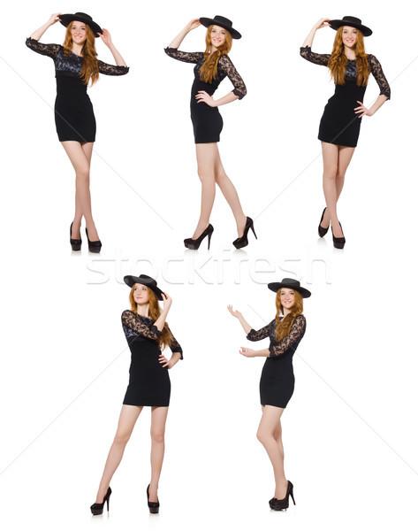 Engraçado mexicano sombrero seis mulher dançarina Foto stock © Elnur