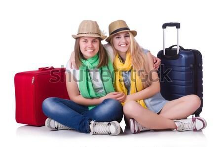 пару молодые студентов девушки женщины Сток-фото © Elnur
