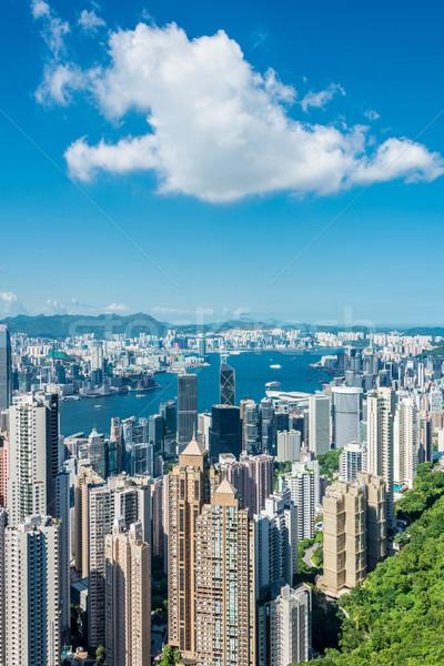 мнение Гонконг день небе здании город Сток-фото © Elnur