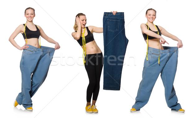 фото женщину диеты девушки счастливым Сток-фото © Elnur