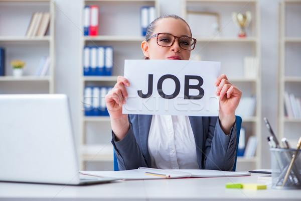 女性実業家 新しい オフィス コンピュータ 女性 ストックフォト © Elnur