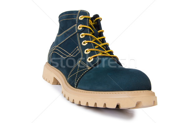 Heavy duty shoes isolated on the white Stock photo © Elnur