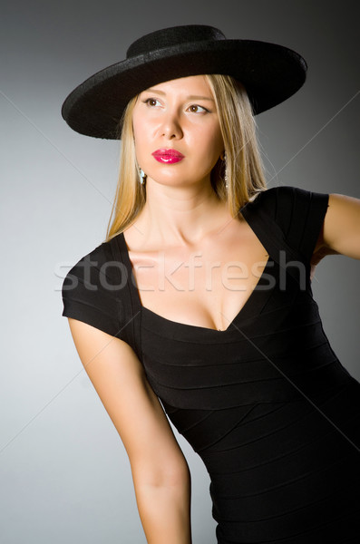 Young woman in fashion concept Stock photo © Elnur