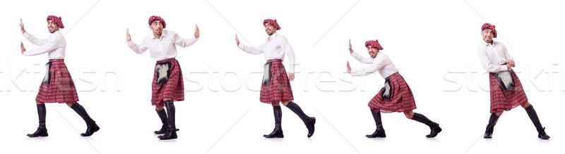 человека виртуальный препятствие танцы весело Сток-фото © Elnur