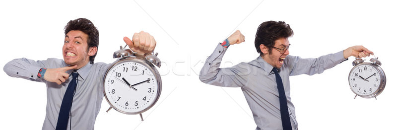 Zakenman stress niet vergadering deadlines business Stockfoto © Elnur