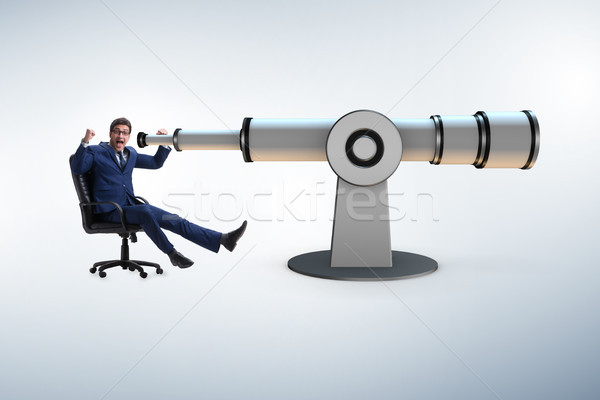 Businessman in financial planning business concept Stock photo © Elnur