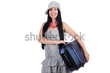Mujer marinero marinos sonrisa moda verano Foto stock © Elnur