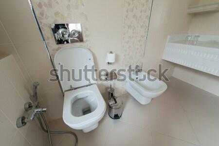 туалет комнату современных интерьер дизайна домой Сток-фото © Elnur