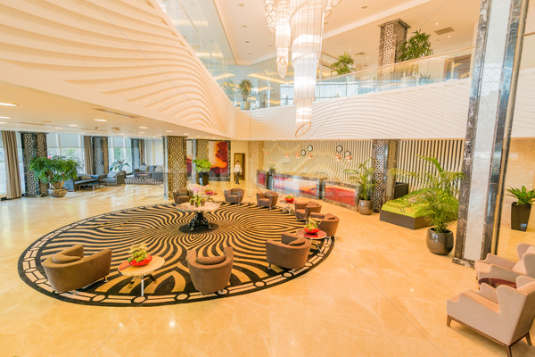 Hotel lobby with modern design Stock photo © Elnur