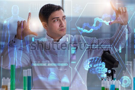 Woman doctor in telemedicine cardiology concept Stock photo © Elnur