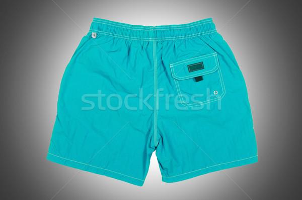Mannelijke shorts geïsoleerd witte sport achtergrond Stockfoto © Elnur