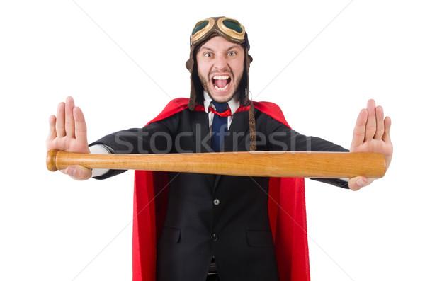 Photo stock: Homme · rouge · vêtements · drôle · sport