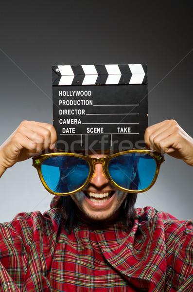 Engraçado filme rua diversão cinema saco Foto stock © Elnur