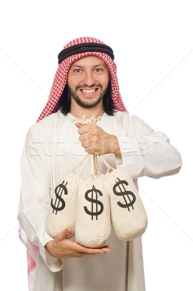 арабских бизнесмен деньги счастливым работу молодые Сток-фото © Elnur