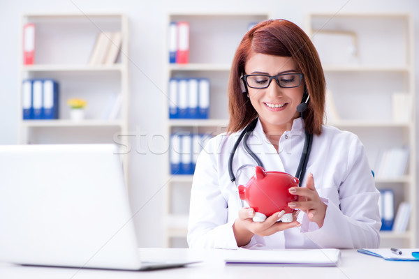 Doctor in expensive healthcare concept Stock photo © Elnur