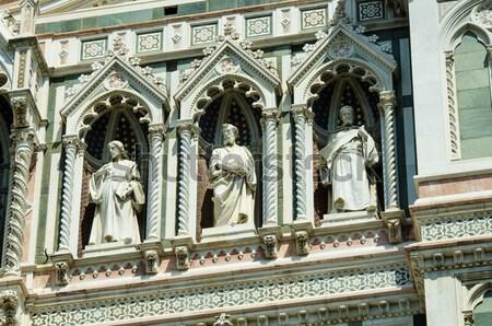 Architecture cathédrale FLORENCE bâtiment ville Photo stock © Elnur