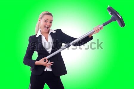 Kobieta interesu dynamit biały działalności kobieta dziewczyna Zdjęcia stock © Elnur