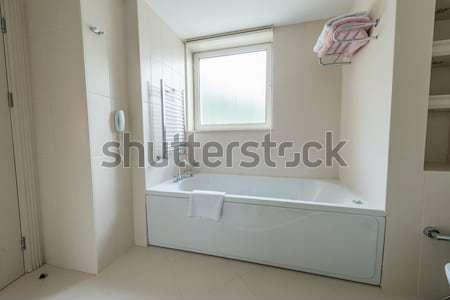 Interior of the modern bathroom Stock photo © Elnur