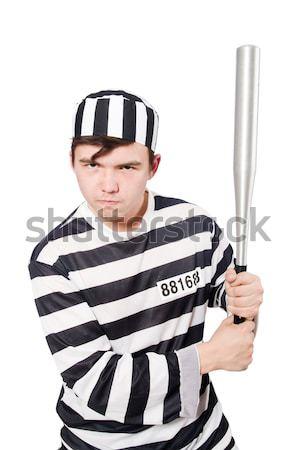 заключенный изолированный белый самоубийства тюрьмы мужчины Сток-фото © Elnur