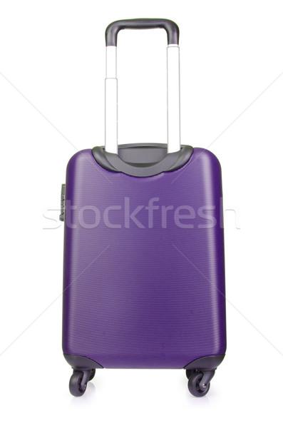 Travel luggage isolated on the white background Stock photo © Elnur