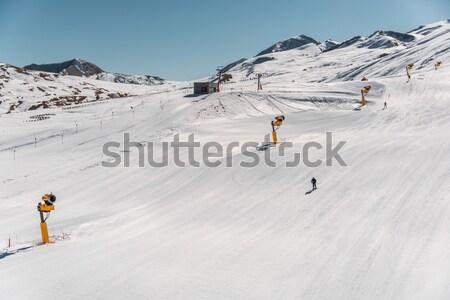 Inverno montanhas região Azerbaijão céu sol Foto stock © Elnur