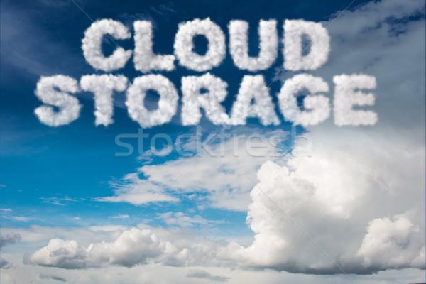 Armazenamento internet rede nuvem serviço Foto stock © Elnur