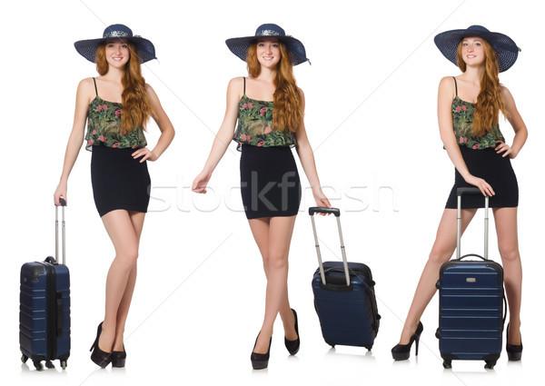 путешествия отпуск Камера белый счастливым моде Сток-фото © Elnur