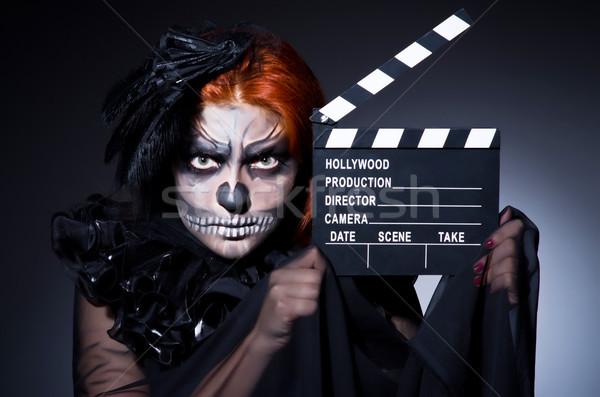 Ijesztő szörny film tábla divat film Stock fotó © Elnur