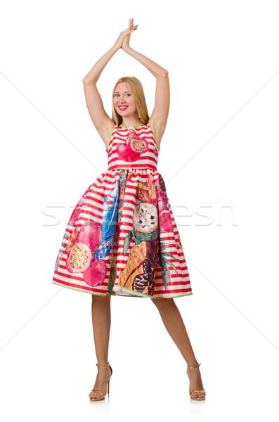 Jonge vrouw mode vrouw handen kleding vrouwelijke Stockfoto © Elnur