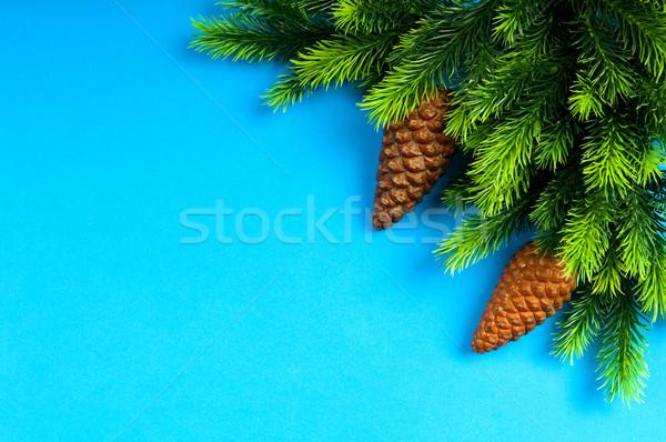 Рождества украшения праздник фон пространстве Сток-фото © Elnur