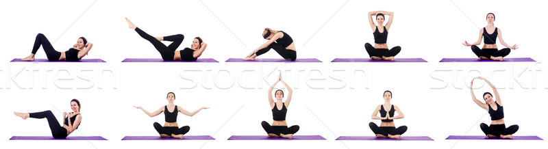 Concept of healthy lifestyle in set Stock photo © Elnur