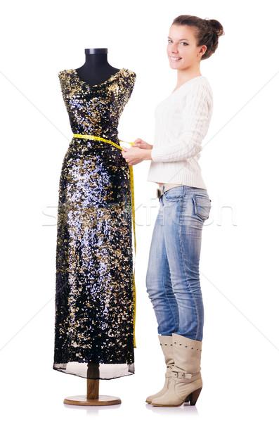 Donna su misura lavoro abito moda lavoro Foto d'archivio © Elnur