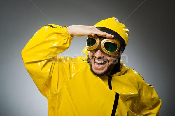 Man wearing yellow suit and aviator glasses Stock photo © Elnur