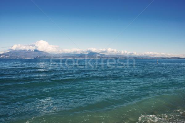 Lake Garda in Northen Italy Stock photo © Elnur