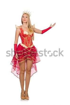 Frau Oktoberfest weiß Mädchen sexy Bier Stock foto © Elnur