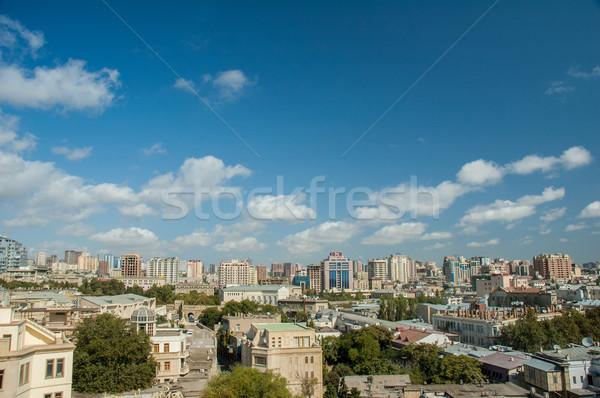 мнение Азербайджан ярко лет день город Сток-фото © Elnur