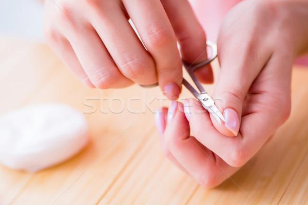 美容製品 爪 ケア ツール ペディキュア クローズアップ ストックフォト © Elnur
