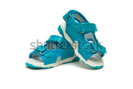 6b2fb1273 Baby shoes isolated on the white background stock photo © Elnur ...