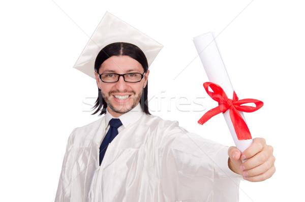Jovem masculino estudante escola secundária branco educação Foto stock © Elnur