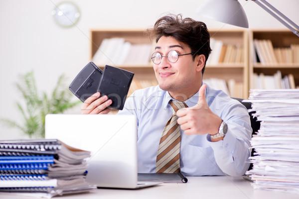 面白い 会計士 作業 オフィス コンピュータ ストックフォト © Elnur