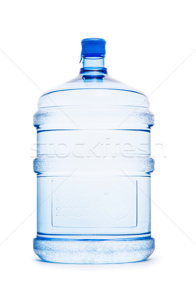 Water bottle isolated on the white Stock photo © Elnur