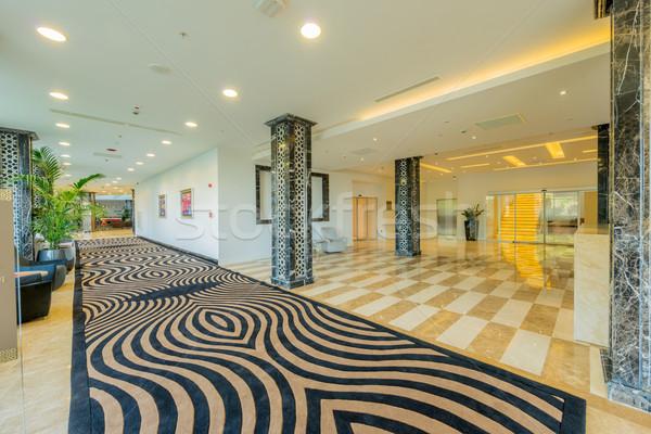 Hotel entrada moderno projeto casa luz Foto stock © Elnur