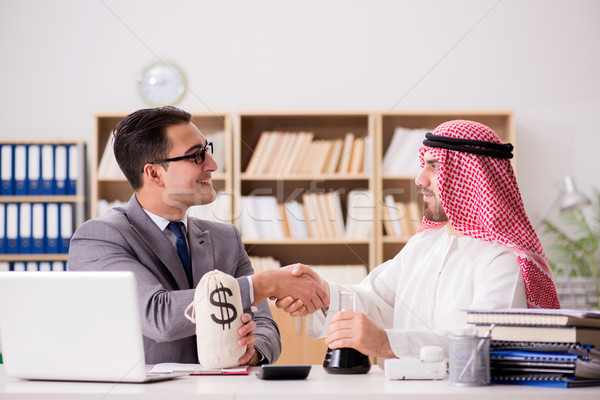 бизнеса арабских бизнесмен служба деньги Сток-фото © Elnur
