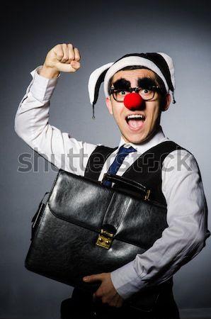 Więzienia więzień funny człowiek piłka łańcucha Zdjęcia stock © Elnur